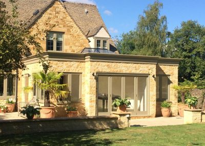 House Extension And Retaining Wall Repair Cotswold And Vale Worcester