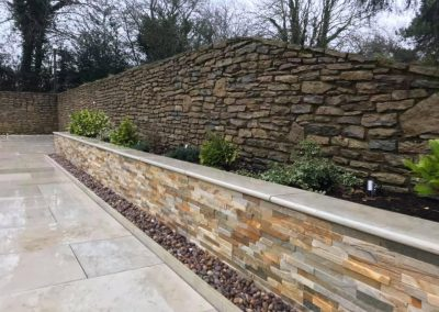 Retaining Wall Repair Cotswold And Vale Evesham